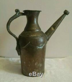 Antique Du Moyen-orient Islamique Persane Ottomane Pichet Eau Jug