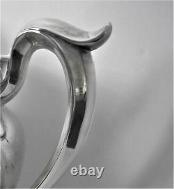 Antique Gorham Sterling Silver Français Water Pitcher-trophy, Gravure 645 G