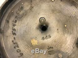 Antique Middletown Plate Co. Mouvement Esthétique Argent Plaqué D'inclinaison Pitcher Eau
