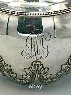 Antique Shreve, Crump & Loth Goodnow & Jenks Sterling Silver Water Pitcher