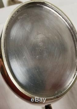 Antique Silverplate Nicol & Davidson À New York Pichet Hôtel