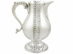 Antique Sterling Silver Beer/water Jug, Années 1760
