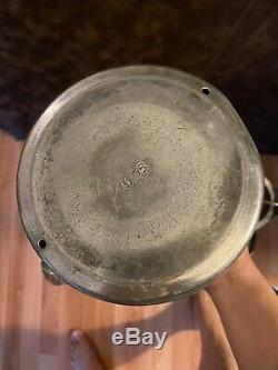 Antique Victorian Middletown & Co Plaqué Argent Basculement Pitcher Eau