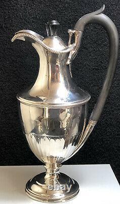 Antique Victorian Sterling Silver Water Jug-1895, Walter & John Barnard, Lond