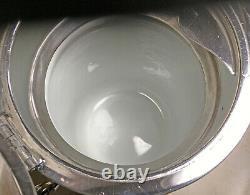 Antique Wilcox Silverplate Pitcher D'eau De Glace