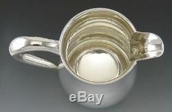 Argent Vintage Solide Sterling Ellmore Eau / Pichet Vin Ou Jug 8 No Mono