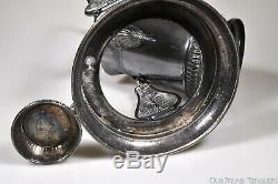 C. 1889 No. 0403 Inclinaison Pichet Set De L'eau Par Meridian Argent Plate Co
