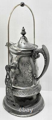 C'est Magnifique! Plaque De Boulon B. G. Uher Tilt Eau Pitcher Coffee Pot Stand Wcup Titulaire