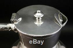 C1884, Christopher Dresser Pour Elkington Antique Argent Plaqué Eau Claret Jug