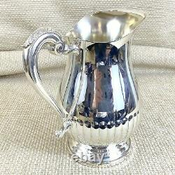 Christofle Silver Plated Water Pitcher Wine Jug Large 3.5 Pintes 2 Litres 2000ml