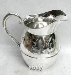 Classic American International Sterling Silver 3 Pint 7 1/2 Pichet D'eau