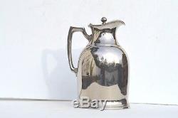 De Début Des Années 1940 Grace-new Haven Community Hospital Plaqué Argent De L'eau Pitcher Rare