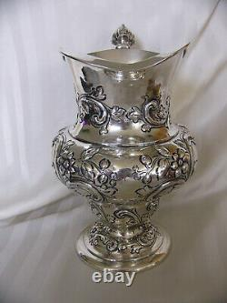 Dominick & Haff Sterling Silver Water Pitcher 5 Pinte Shreve & Co. 1906