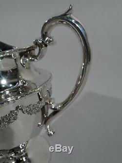 Durgin Empire Pitcher Eau 134 Antique Regency Américain Sterling Silver