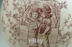 Esthétique Old Hall-angleterre- Mère Hubbard Grand-enfants Pitcher Cruche D'eau