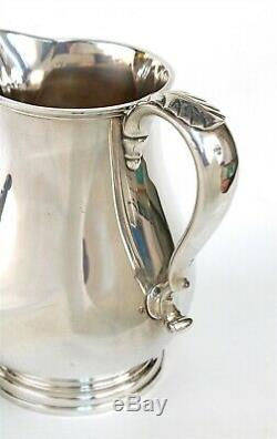Gorham 18 Sterling C Pitcher George I Style Eau # 231 Vierge