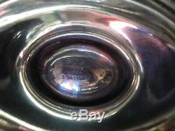 Gorham / Plymouth A2788 3-5 / 8 Pichet D'eau En Argent Sterling Belles Gravures