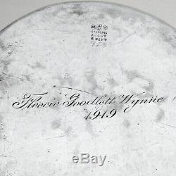 Gorham Raisin Pitcher Eau Martelée En Argent Sterling 1905 Mono Fgw