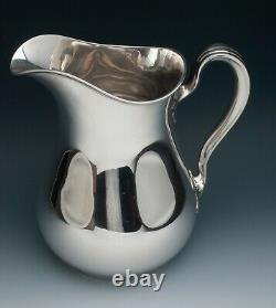 Gorham Sterling Silver Water Pitcher 8,25 Pintes, 9,5, Très Agréable