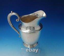 Grand Colonial By Wallace Sterling Silver Water Pitcher #201 8 3/4 Tall (#5107)