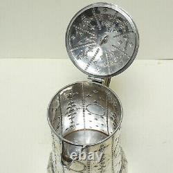 Grande Cruche Antique Victorian Sterling Silver Water Jug Robert Hennell III Londres 1844