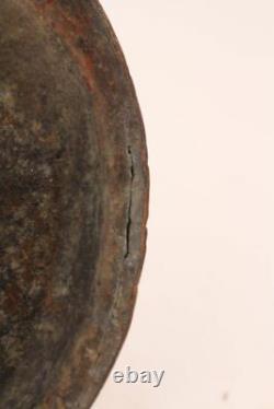 Große Antike Kupfer Kanne Wasserkrug Handgeschlagen Copper Can Water Jug Pitcher