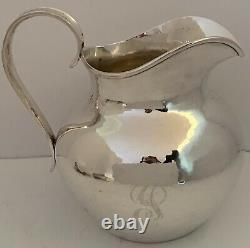 Handwrought Kalo Chicago Arts & Crafts Sterling Water Pitcher C. 1930