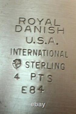 International Sterling Royal Danish Water Pitcher