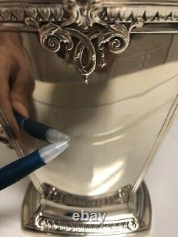 International Trianon Sterling Art Déco Pitcher D'eau