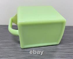 Jeannette Glass Co Jadite / Jadeite / Jade-ite Ice Box Jug (pitcher D'eau) #2