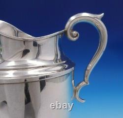 Jenny Lind Par Alvin Sterling Silver Water Pitcher #s831 9 X 7 3/4 (#4852)