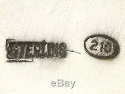 Jug Continental En Argent Sterling Eau Style Design Vintage 1960 Circa