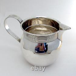 Lanceur D'eau Moderne Old Newbury Crafters Sterling Silver Années 1960