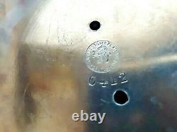 Meriden Silver Co. C1870 Pitcher D'eau D'inclinaison Avec Deux Gobelets Mouvement Esthétique