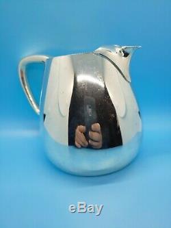 Milieu Du Siècle Tiffany & Co Sterling Pitcher L'eau Vers 1950