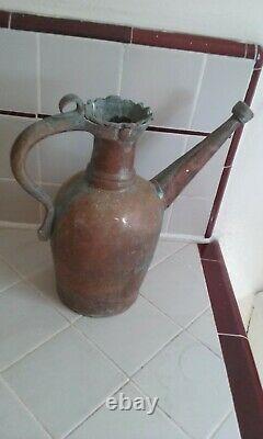 Moyen-orient Antique, Persan Persique De Collection Pichet De Cruche D'eau Islamique