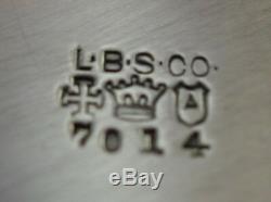 Numéro 7014 Par Lawrence B. Smith & Co. En Argent Sterling Pitcher Eau (# 2342)