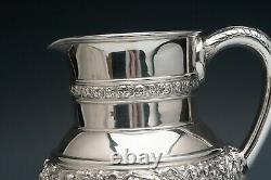 Olympien Par Tiffany & Co. Sterling Silver Water Pitcher 7.25 Grand, 4.25 Pinte