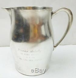 Paul Revere Reproduction Par Poole 7 En Argent Sterling Pichet Jug 20,7 Oz