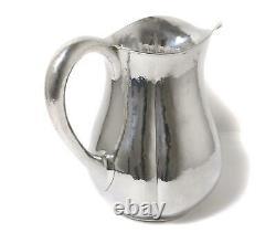 Pichet D'eau En Argent Sterling (jug). Arts Et Métiers D'art. États-unis, Lewy Bros. Co.