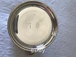 Pichet D'eau Sterling Silver By Watson Company 5 Pit # B297