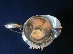 Pichet D'eau! Vintage F. S. Sterling 925 Poignée Classic Lovely