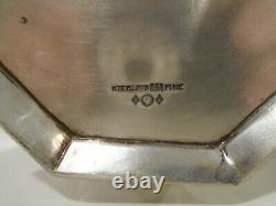Pichet En Argent Sterling Antique Eau Non Monogram Baltimore Argenterie 649 Grs