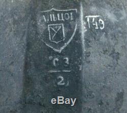 Pitcher Antique Russe Can Eau Jug 18ème Siècle Malamov Usines Ural