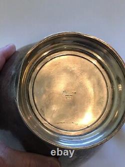 Pitcher D'eau Scrap Ou Not-sterling Argent Preisner 645 Grammes-denté-tarnished