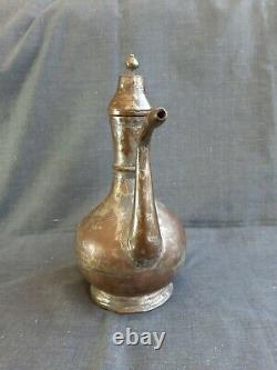 Pitcher De Cuivre Ottoman Ottoman Antique À La Main -water Jug Ibrik