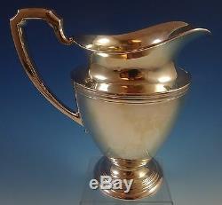 Pitcher International Silver Sterling Eau # E28 4 Pinte (# 1289)