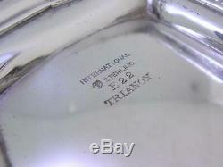 Pitcher Sterling International Eau Trianon Pas Mono Exc Cond