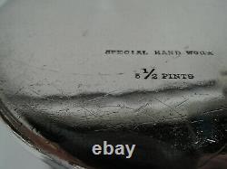 Pitcher Tiffany Eau 17580 Travail Spécial À La Main Américaine En Argent Sterling