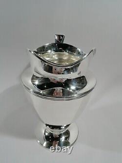 Pitcher Tiffany Eau 18181 Classique Art Déco Américain En Argent Sterling